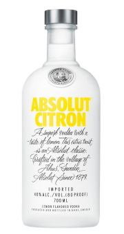 ABSOLUT CITRON 0,7L VODKA 40%
