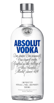 ABSOLUT VODKA 0,5L 40%