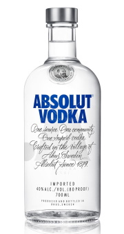 ABSOLUT VODKA 0.7L BLUE 40%