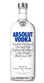 ABSOLUT VODKA 1L 40%