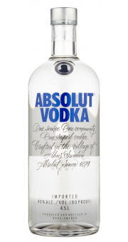 ABSOLUT VODKA 4.50L 40%