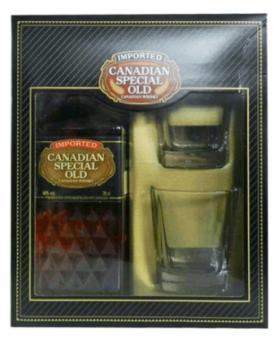 CANADIAN SPEC.OLD+2 ČAŠE 0.7L 40%