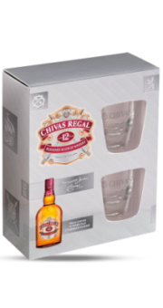 CHIVAS REGAL 12YO 0,70L+2 ČAŠE 40%