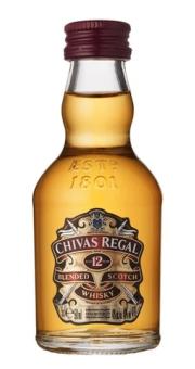 CHIVAS REGAL 0.05L 40% x 12